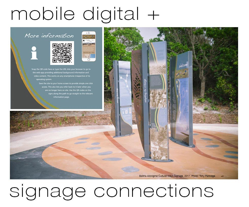 mobile digital + signage connections