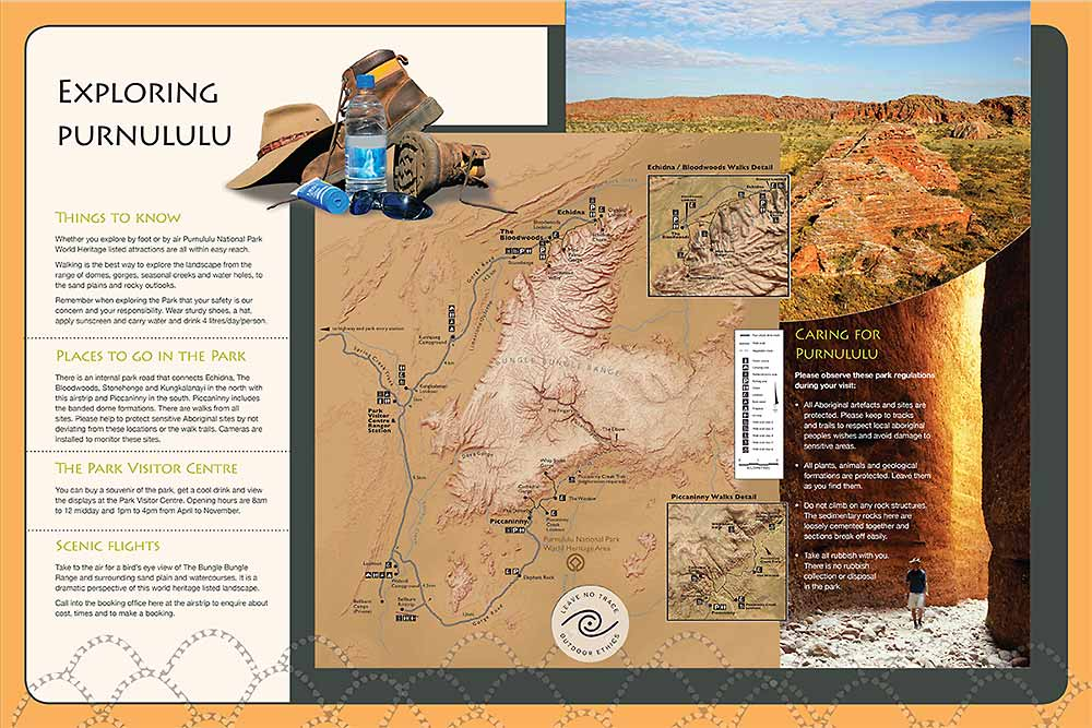 purnululu orientation sign