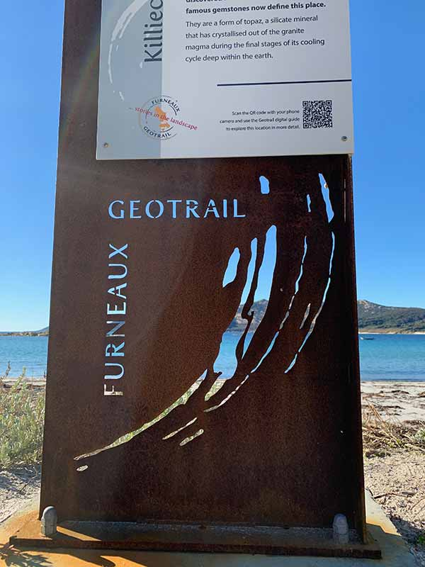 geotrail sign example